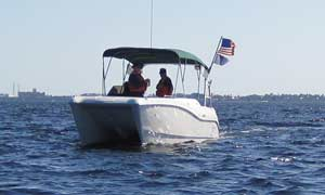 USCG Auxiliary boat