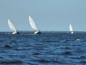 Catboats Beating Upwind
